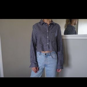 *3 for $25* American apparel flannel crop